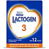 Nestlé LACTOGEN 3 Follow-Up Infant Formula Powder (After 12 months), Stage 3 - 400g Bag-In-Box Pack