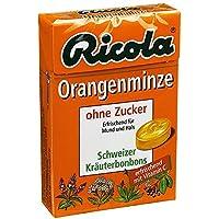Ricola ohne Zucker Box Orangenminze Bonbons 50 g preisvergleich bei billige-tabletten.eu