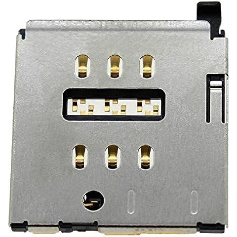 Goliton? Tarjeta SIM Holder Reader Slot Conector Tarjeta SIM Socket pieza de recambio para el iPhone 6S Plus 5.5 pulgadas