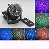 Y-YT LED Projektor Lichter Sprachgesteuerte LED Magic Ball Lampe Outdoor-Kristall Bühne rotierende Gürtel Fernbedienung Blitz