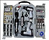 71 tlg Druckluft Geräte Set Schlagschrauber Ratsche Meißelhammer Geräteset Gerätesatz
