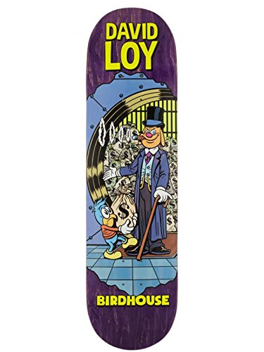 Birdhouse David Loy Skateboard-Deck Vices - 8.38 inch Multi (One Size,)