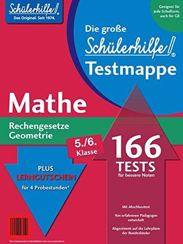 Testmappe Mathe Rechengesetze/Geometrie (Kl. 5.-6.)