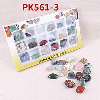 ChaRLes AU Natürliche Edelsteine ??Steine ??Variety Collection Crystals Kit Mineralische geologische Unterrichtsmaterialien - Nr. 4