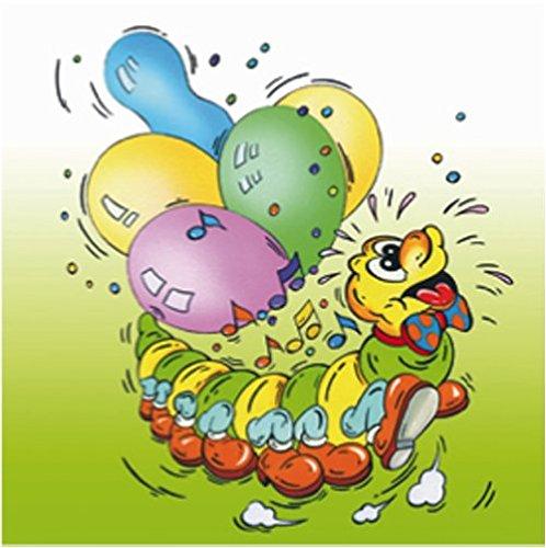 40-hochwertige-servietten-mit-kindermotiven-motivservietten-33x33cm-ba14-020-kinder-raupe-mit-ballon