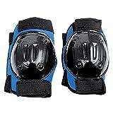SPOKEY® SIMPLY SAFE Schoner/Protektoren Set für Kinder - Ellenbogen-, Knieschützer (Inline, Rollschuh, Skateboard, Roller, Skates), SimplySafe Größen:L - 82502;SimplySafe Farben:blau