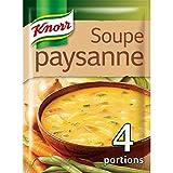 Knorr Soupe Paysanne Aux Légumes Au Lard 97g pour 4 personnes