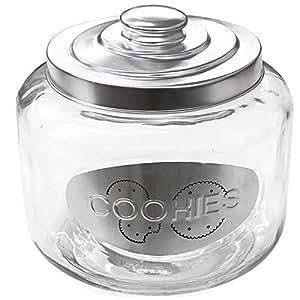 grand pot bocal en verre avec couvercle cookies cuisine maison. Black Bedroom Furniture Sets. Home Design Ideas
