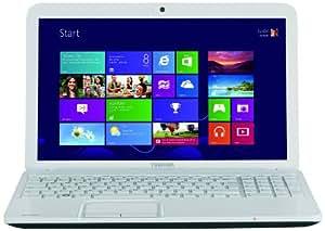 Toshiba Satellite C855-2F0 15.6-inch Notebook (White)-(Intel Core i3-2348M 2.3GHz, 8GB RAM, 750GB HDD, Windows 8, USB 3.0)