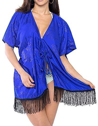 couvrir beachwear Tunique dames Kaftan maillot de bain robe cardigan kimono robe cru bikini lâche rétro dissimuler femmes l'été hawaïen t-shirt vacances