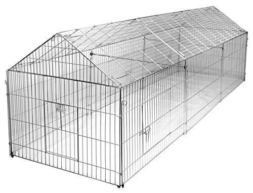 Kerbl 70358 Erweiterungsset zu Freilauf- gehege 70345, 110 x 103 x 103 cm