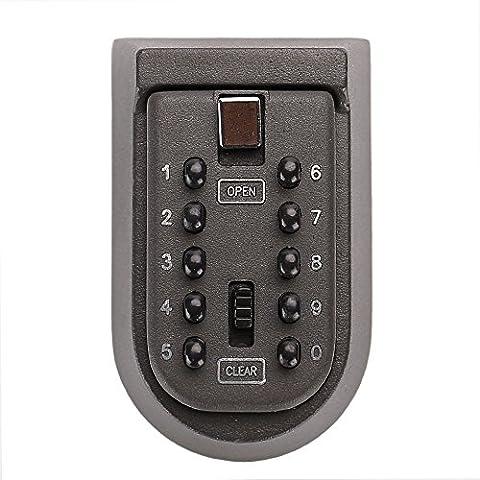 PHEENX PREMIUM Outside Wall Mounted Coded Key Safe Lock Box,