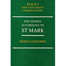 Gospel According to St.Mark (Black's New Testament Commentaries)