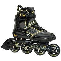 مزلاجات مضمنة للرجال من Roller Derby AERIO Q-60، مقاس 10