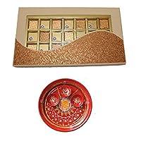 SFU E Com Holi Chocolate Basket Hamper   Holi Special Chocolate Gift   Premium Chocolate Hamper   Holi Pooja Thali   Pack of Chocolate Box-1   21