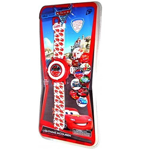 Image of Disney Cars Projecter Wrist Watch Projects 10 images of Lightning Mcqueen And Friends