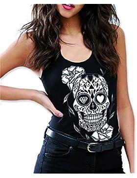 VIENTO Mexican Camiseta de Tirantes para Mujer