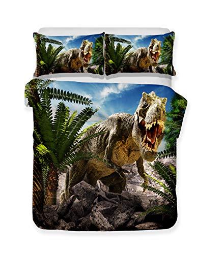 Stillshine Ropa Cama Estampado Dinosaurio jurásico