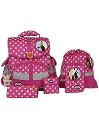 """School-Mood93703 Dreamworld Set di accessori per la scuola """"Timeless"""", motivo cavallo"""