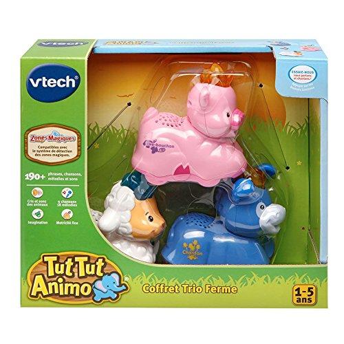 Vtech - A1503908 - Jeu De Construction - Coffret Trio Ferme - Tut Tut