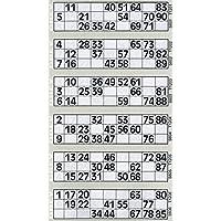 12000 12 a vista Bingo Flyers Bingo Tickets