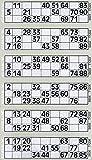 6000 6 a Ver Bingo Flyers Bingo Tickets