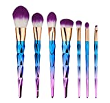 Best Mineral Makeup Kits - SHAFIRE™ Colorful Makeup Brushes Thread Rainbow Professional Make Review