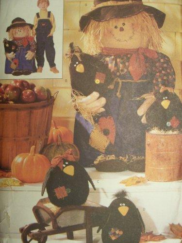 Butterick Schnittmuster 6298Veranda Vogelscheuche & Crows
