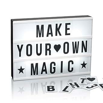 easymaxx 03037 led leuchtkasten 173 buchstaben mit sonderzeichen symbole a4 format. Black Bedroom Furniture Sets. Home Design Ideas