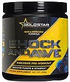 GoldStar Shock and Awe Pre-Workout Booster Trainingsbooster Bodybuilding Sportbooster 300g 30 Portionen (Cherry - Kirsche)
