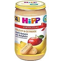 HiPP Apfel-Banane mit Babykeks, 6er Pack (6 x 250 g)