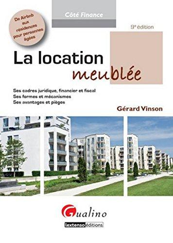 La location meublée par Gérard Vinson