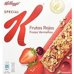 Special K Barrita De Cereales Frutos Rojos - Pack de 6 (6 x 21.5 g)