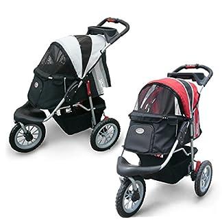 Pet Stroller,IPS-070, Black/Silver, Dog Carrier, Trolley, Innopet, Comfort EFA Buggy. Foldable pet buggy, pushchair… 18