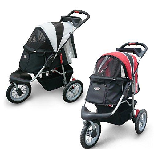 Pet Stroller,IPS-070, Black/Silver, Dog Carrier, Trolley, Innopet, Comfort EFA Buggy. Foldable pet buggy, pushchair… 1