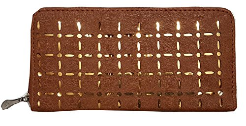 Women Clutch Hand Purse Bags For Women Girls Ladies Of Brown Color...