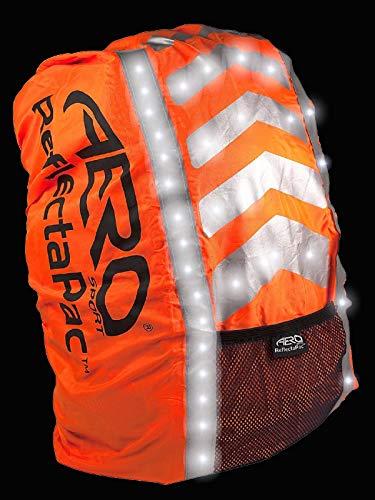 Aero Sport Reflectapactm 3M Scotchlite Copri Zaino Impermeabile di Alta visibilità
