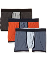JACK & JONES Jjacsolid Rugged Trunks 3 Pack - Bóxer Hombre