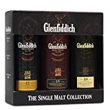 Glenfiddich Sigle Malt Collection Old Tubes 3x50ml 40% Vol.