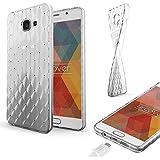 URCOVER Coque Back-case Housse Glittery Diamant pour Samsung Galaxy A5 2016 | Étui avec Strass Scintillantes et Pailletté en Silicone TPU Souple in Transparente
