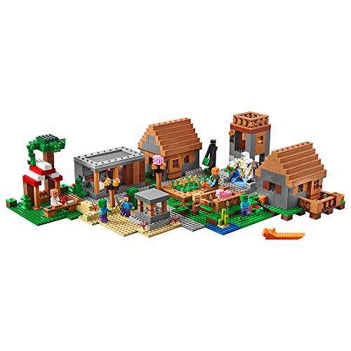 (LEGO Minecraft 21128 The Village Building Kit (1600 Piece) by LEGO)