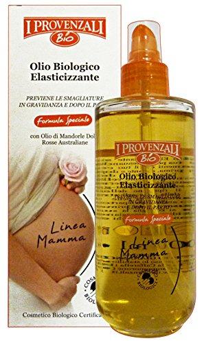 I Provenzali Pezzi Olio Elasticizzante Mamma Biologico 200 ml