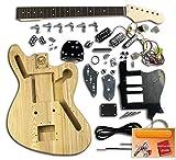 guitare en kit - JAG Cobain, Frene|Pickguard Noir