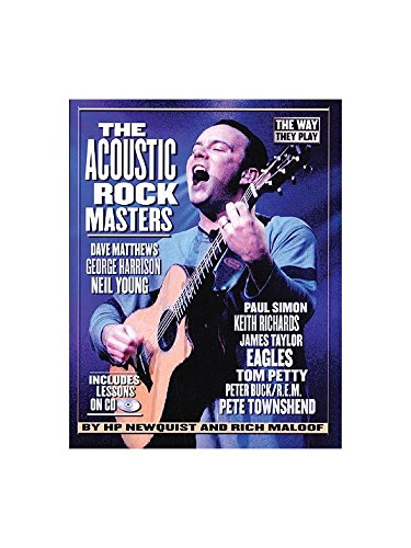 HP Newquist/Rich Maloof: The Way They Play - The Acoustic Rock Masters. Partitions, CD pour Tablature Guitare
