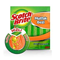 Scotch-Brite 1880502 Mikrofiber Mutfak Bezi, 2'li