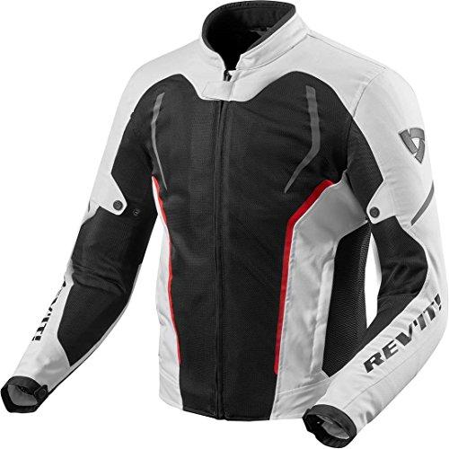 Revit GT-R Air 2 Textiljacke Weiß/Schwarz M