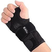 EXski Handgelenk Schienen Bandage Handgelenkbandage Links Rechts Karpaltunnelsyndrom Arthritis Verstärkte Kompression preisvergleich bei billige-tabletten.eu