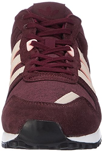 adidas Damen ZX 700 Sneakers Rot (Maroon/haze Coral/night Red)