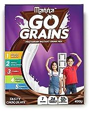 Manna Go Grains - Multigrain Instant Drink Mix - 400g Pack