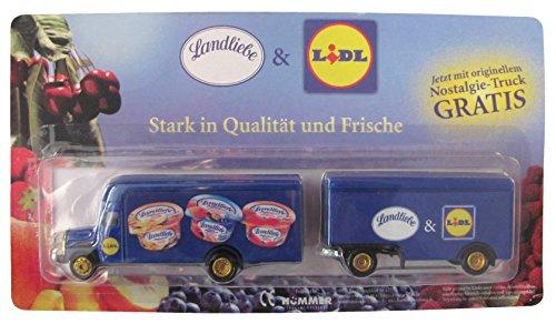 Landliebe & Lidl Nr. - Stark in Qualität und Frische - MB L311 - Koffer Hängerzug Oldie